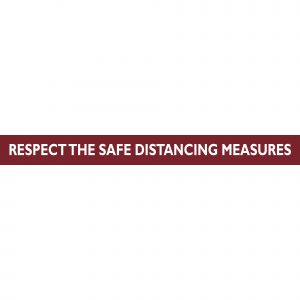 Floor Adhesive Graphics | Respect Safety Distance Requirements